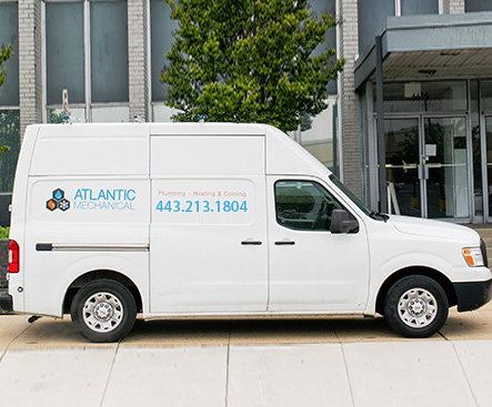 Atlantic Mechnical Baltimore Van
